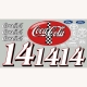 Slot Car Decal 1:24 Coca Cola