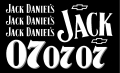 Slot Car Decal 1:24 Jack Daniels